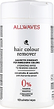 Fragrances, Perfumes, Cosmetics Hair Colour Remover Wipes with Chamomile Extract - Allwaves Hair Colour Remover
