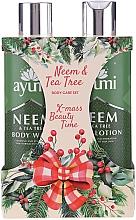 Fragrances, Perfumes, Cosmetics Set - Ayumi Neems & Tea Tree (b/lot/250ml + sh/gel/250ml)