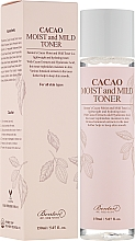 Fragrances, Perfumes, Cosmetics Cocoa Toner - Benton Cacao Moist and Mild Toner
