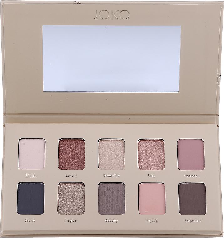 Eyeshadow Palette - Joko Mood Board