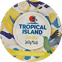 "Fragrances, Perfumes, Cosmetics Face Mask ""Banana"" - Marion Tropical Island Banana Jelly Mask"