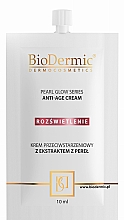 Fragrances, Perfumes, Cosmetics Anti-Aging Face Cream - BioDermic Pearl Glow Anti-Age Cream (mini size)