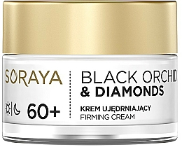 Fragrances, Perfumes, Cosmetics Firming Face Cream - Soraya Black Orchid & Diamonds 60+ Firming Cream