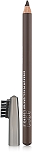 Fragrances, Perfumes, Cosmetics Brow Pencil with Brush - Aden Cosmetics Eyebrow Pencil