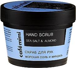 "Fragrances, Perfumes, Cosmetics Hand Scrub ""Sea Salt and Almond"" - Cafe Mimi Hand Scrub"
