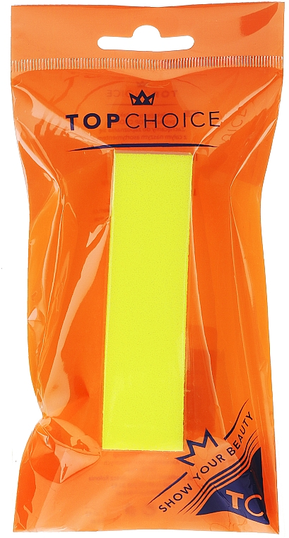 Nail Buffer 120/150, 74813, yellow - Top Choice Colours Nail Block