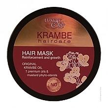 "Fragrances, Perfumes, Cosmetics Hair Mask ""Reinforcement & Growth"" with Organic Krambe & Saffron Oils - Argan Haircare"
