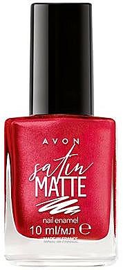 Nail Polish - Avon Satin Matte Nail Enamel