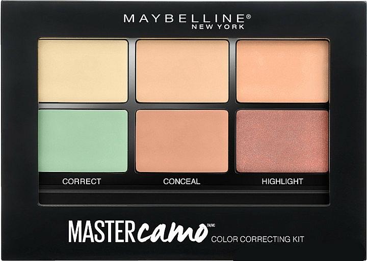 Color Correcting Concealer Kit - Maybelline Master Camo Color Correcting Concealer Kit