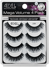 Fragrances, Perfumes, Cosmetics False Lashes Kit - Ardell Mega Volume 4 Pack 251 Lashes