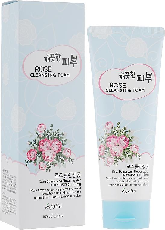 Cleansing Foam - Esfolio Pure Skin Rose Cleansing Foam