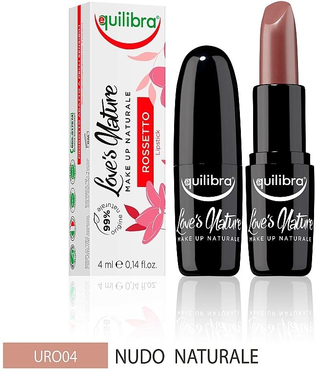 Lipstick - Equilibra Love's Nature Lipstick