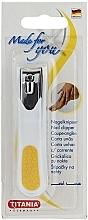 Fragrances, Perfumes, Cosmetics Chromium-Plated Nail Clipper, white-yellow - Titania