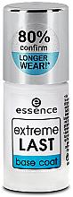 Fragrances, Perfumes, Cosmetics Base Coat - Essence Extreme Last Base Coat