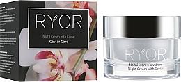 Fragrances, Perfumes, Cosmetics Night Caviar Cream - Ryor Night Cream With Caviar
