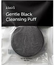 Fragrances, Perfumes, Cosmetics Face Wash Sponge - Klairs Gentle Black Cleansing Puff