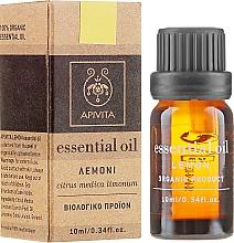 "Fragrances, Perfumes, Cosmetics Essential Oil ""Lemon"" - Apivita Aromatherapy Organic Lemon Oil"