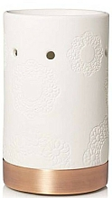 Fragrances, Perfumes, Cosmetics Candle Holder - Yankee Candle Floral Ceramic