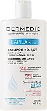 Fragrances, Perfumes, Cosmetics Soothing Shampoo for Sensitive Scalp - Dermedic Capilarte Shampoo