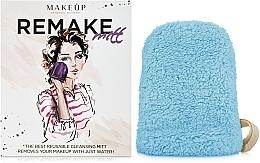 "Fragrances, Perfumes, Cosmetics Makeup Remover Glove, turquoise ""ReMake"" - MakeUp"