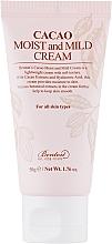 Fragrances, Perfumes, Cosmetics Face Cream - Benton Cacao Moist and Mild Cream
