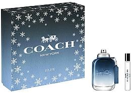 Fragrances, Perfumes, Cosmetics Coach Blue - Set (edt/60ml+ edt/7.5ml)