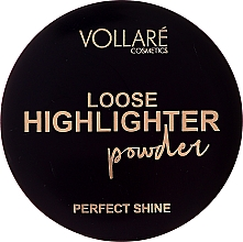 Fragrances, Perfumes, Cosmetics Loose Highlighter - Vollare Loose Highlighter Powder Perfect Shine