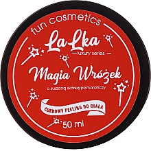 "Fragrances, Perfumes, Cosmetics Sugar Body Scrub ""Magic Fairy"" - Lalka Sugar Body Peeling"