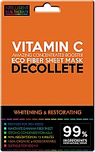 Fragrances, Perfumes, Cosmetics Express Decollete Mask - Beauty Face IST Whitening & Restorating Decolette Mask Vitamin C