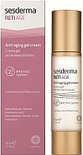 Fragrances, Perfumes, Cosmetics Anti-Aging Gel Cream - SesDerma Laboratories RetiAge Anti-Aging Gel Cream