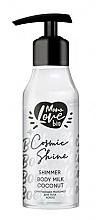 Fragrances, Perfumes, Cosmetics Coconut Shimmer Body Milk - MonoLove Bio Shimmer Body Milk Coconut Cosmic Shine