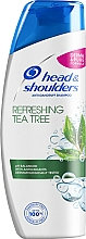 "Fragrances, Perfumes, Cosmetics Anti-Dandruff Shampoo ""Tea Tree"" - Head & Shoulders Tea Tree Shampoo"