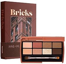 Fragrances, Perfumes, Cosmetics Eyeshadow Palette - Heimish Dailism Eye Palette Brick Brown