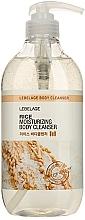 Fragrances, Perfumes, Cosmetics Shower Gel - Lebelag Rice Moisturizing Body Cleanser