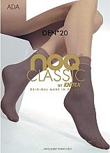 "Fragrances, Perfumes, Cosmetics Women Socks ""Ada"" 20 Den, beige - Knittex"