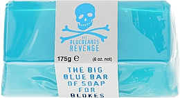 Fragrances, Perfumes, Cosmetics Face and Body Soap - The Bluebeards Revenge Big Blue Bar Of Soap For Blokes