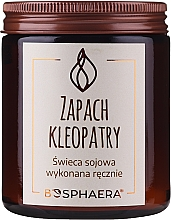 """Fragrances, Perfumes, Cosmetics Scented Soy Candle """"The Scent of Cleopatra"""" - Bosphaera The Scent of Cleopatra Candle"""