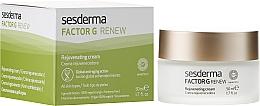 Fragrances, Perfumes, Cosmetics Anti-Aging Repairing Face Cream - SesDerma Laboratories Factor G Anti-Aging Regenerating Facial Cream