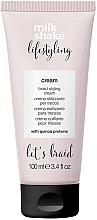 Fragrances, Perfumes, Cosmetics Styling Hair Cream - Milk Shake Lifestyling Braid Styling Cream