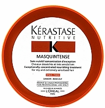 Fragrances, Perfumes, Cosmetics Intensive Mask for Dry and Damaged Hair - Kerastase Masquintense Irisome Nutritive