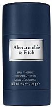 Fragrances, Perfumes, Cosmetics Abercrombie & Fitch First Instinct Blue - Deodorant Stick