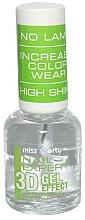 Fragrances, Perfumes, Cosmetics Nail Polish - Miss Sporty Nail Expert 3D Gel Effect Top Coat