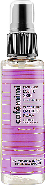 "Face Mist ""Matte Skin"" - Cafe Mimi Facial Mist Matte Skin"