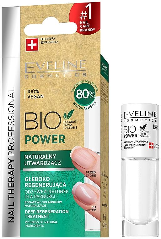 Nail Hardener - Eveline Cosmetics Nail Therapy Bio Power