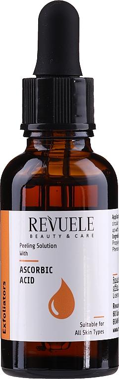 Ascorbic Acid Peeling - Revuele Peeling Solution Ascorbic Acid Exfoliator