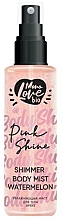 Fragrances, Perfumes, Cosmetics Watermelon Body Mist - MonoLove Bio Shimmer Body Mist Watermelon Pink Shine