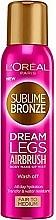 Fragrances, Perfumes, Cosmetics Body Self-Tanning Spray - L'Oreal Paris Sublime Bronze Dream Legs Airbrush Body Make Up Mist Fair To Medium