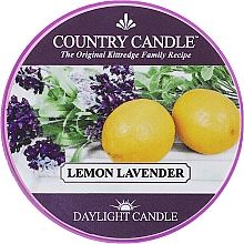 Fragrances, Perfumes, Cosmetics Scented Candle in Jar - Country Candle Lemon Lavender