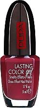 Fragrances, Perfumes, Cosmetics Glass Effect Nail Gel Polish - Pupa Lasting Color Gel