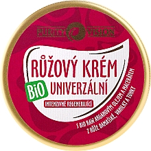 Fragrances, Perfumes, Cosmetics Moisturizing & Repairing Face Pink Cream - Purity Vision Rose Cream